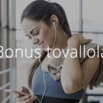bonus tovallola